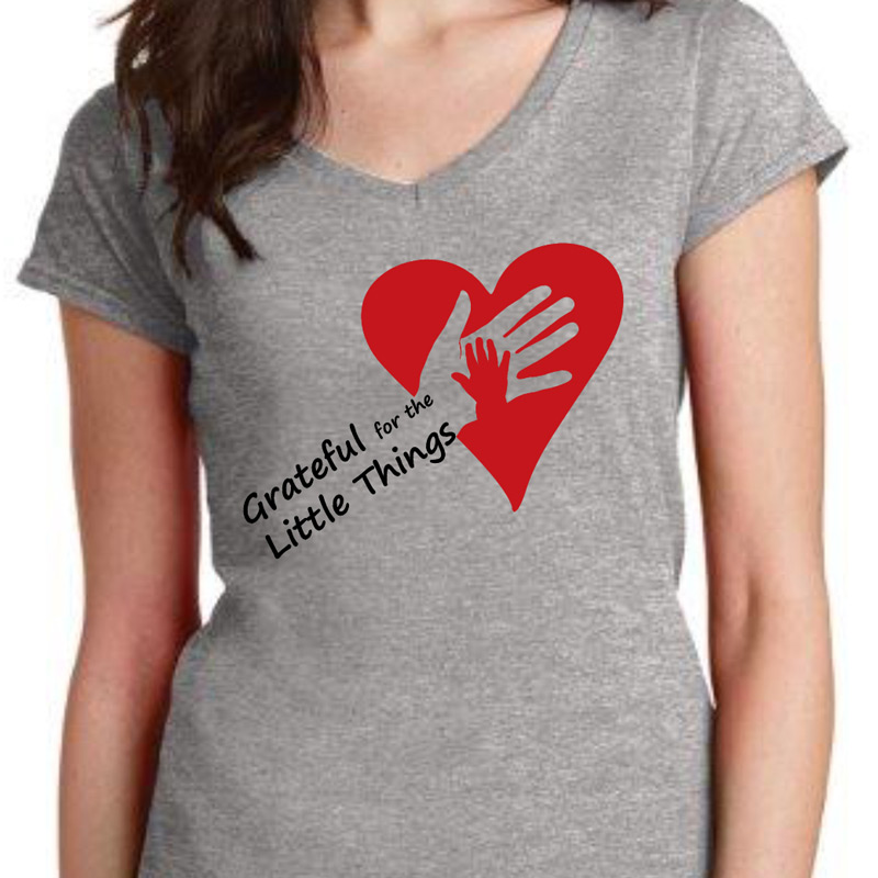 Grateful for the Little Things - T-Shirt