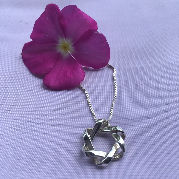Mobius Small Star Pendant Necklace