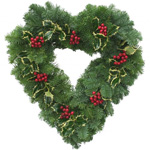 4Evergreen Heart Wreath