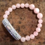 Meaning to Pause Vibration Bracelets - Be the Love - Rose Quartz