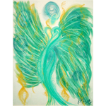 Angel of Inner Peace Greeting Card