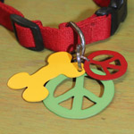 Peace & Bone Pet Tags