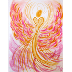Positive Attitude Angel Greeting Card