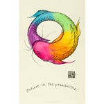 J Stone Handpainted Poster - Believe in the Possibilities