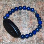 Meaning to Pause Vibration Bracelets - Ripple Effect - Lapis Lazuli