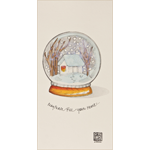 J Stone Handpainted Christmas Card - May Peace Fill Your Heart (Box of 10)