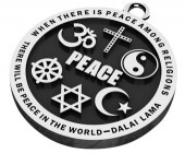 Unity Peace Necklace (Stainless Steel)