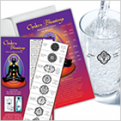 Chakra Blessings Labels with Gift Card