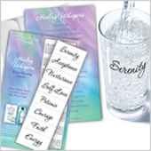 Healing Whispers Blessing Labels with Gift Card