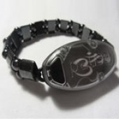 Meaning to Pause Vibration Bracelets - Magnetic OM