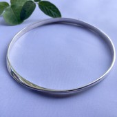 Mobius Large Bangle Bracelet