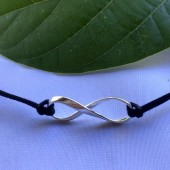 Mobius Medium Infinity Cord Necklace