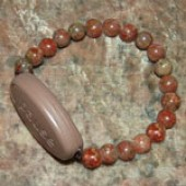 Meaning to Pause Vibration Bracelets - Pause for Peace - Autumn Jasper
