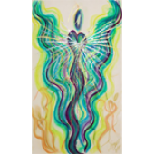 Angel of the World Greeting Card