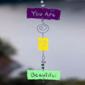 Double Affirmation-Ornament Chime - Horizontal