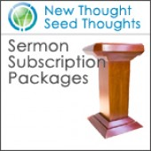 New Thought Seed Thoughts Sermon Subscription Service